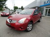 2012 Cayenne Red Nissan Rogue S AWD #104750592