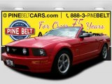 2005 Torch Red Ford Mustang GT Premium Convertible #104750565