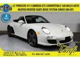 2012 Carrara White Porsche 911 Carrera GTS Cabriolet #104750551