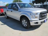 2015 Ingot Silver Metallic Ford F150 XL SuperCrew #104775000