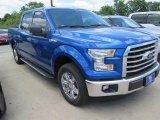 2015 Blue Flame Metallic Ford F150 XLT SuperCrew #104774998