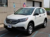 2013 White Diamond Pearl Honda CR-V LX AWD #104775211