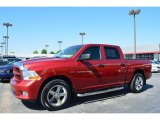 2012 Dodge Ram 1500 Deep Molten Red Pearl