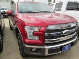 2015 Ruby Red Metallic Ford F150 King Ranch SuperCrew #104774990