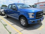 2015 Blue Flame Metallic Ford F150 XL SuperCrew #104774989