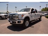 2015 Oxford White Ford F250 Super Duty XLT Crew Cab 4x4 #104775120