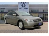 2006 Galaxy Gray Metallic Honda Civic Hybrid Sedan #104774959