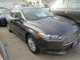 2016 Magnetic Metallic Ford Fusion S #104798671