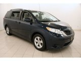 2011 South Pacific Blue Pearl Toyota Sienna LE #104799046