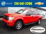2014 Race Red Ford F150 STX SuperCab 4x4 #104799036