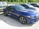 2015 Deep Impact Blue Metallic Ford Mustang V6 Coupe #104798704