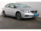 2015 Alabaster Silver Metallic Honda Civic EX Sedan #104798855