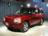 2004 Alveston Red Metallic Land Rover Range Rover HSE #104703