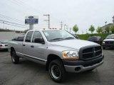 2006 Bright Silver Metallic Dodge Ram 1500 ST Quad Cab 4x4 #10469114