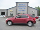2010 Cardinal Red Metallic Chevrolet Equinox LT AWD #104839277