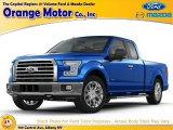 2015 Blue Flame Metallic Ford F150 XLT SuperCab 4x4 #104839146