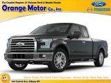 2015 Magnetic Metallic Ford F150 XL SuperCab 4x4 #104839145
