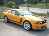 2007 Grabber Orange Ford Mustang Saleen Parnelli Jones Edition #10469037