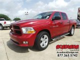 2012 Deep Cherry Red Crystal Pearl Dodge Ram 1500 Express Crew Cab #104839089