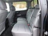 2015 Chevrolet Silverado 1500 LTZ Z71 Crew Cab 4x4 Rear Seat