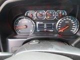 2015 Chevrolet Silverado 1500 LTZ Z71 Crew Cab 4x4 Gauges