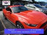 2015 Competition Orange Ford Mustang GT Coupe #104865143