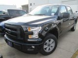 2015 Tuxedo Black Metallic Ford F150 XL SuperCrew #104865112