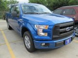 2015 Blue Flame Metallic Ford F150 XL SuperCrew #104865111