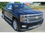 2015 Black Chevrolet Silverado 1500 High Country Crew Cab 4x4 #104865412