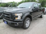2015 Tuxedo Black Metallic Ford F150 XL SuperCrew #104865109