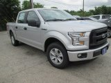 2015 Ingot Silver Metallic Ford F150 XL SuperCrew #104865107