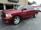 2012 Deep Cherry Red Crystal Pearl Dodge Ram 1500 ST Crew Cab 4x4 #104865409
