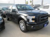 2015 Tuxedo Black Metallic Ford F150 XL SuperCrew #104865105