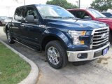 2015 Blue Jeans Metallic Ford F150 XLT SuperCrew #104865099