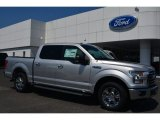2015 Ingot Silver Metallic Ford F150 XLT SuperCrew #104865186