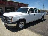 2006 Summit White Chevrolet Silverado 1500 Work Truck Extended Cab #104865451