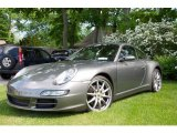 Meteor Grey Metallic Porsche 911 in 2007