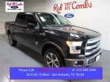2015 Tuxedo Black Metallic Ford F150 King Ranch SuperCrew 4x4 #104900577