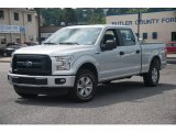 2015 Ingot Silver Metallic Ford F150 XL SuperCrew 4x4 #104900767