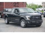 2015 Tuxedo Black Metallic Ford F150 XL SuperCab 4x4 #104900764