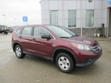 2012 Basque Red Pearl II Honda CR-V LX 4WD #104900952