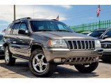 2002 Graphite Metallic Jeep Grand Cherokee Overland 4x4 #104933010