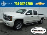 2015 White Diamond Tricoat Chevrolet Silverado 1500 High Country Crew Cab 4x4 #104933190