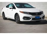 2015 Taffeta White Honda Civic EX-L Coupe #104956374