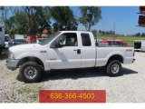 2004 Oxford White Ford F250 Super Duty XLT SuperCab 4x4 #104956392