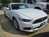 2015 Oxford White Ford Mustang EcoBoost Coupe #104961076