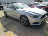2015 Ingot Silver Metallic Ford Mustang EcoBoost Premium Coupe #104961074