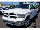 2014 Bright White Ram 1500 SLT Quad Cab 4x4 #104961171