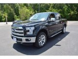 2015 Tuxedo Black Metallic Ford F150 Lariat SuperCrew 4x4 #104979527