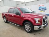 2015 Ruby Red Metallic Ford F150 XLT SuperCrew #104979201